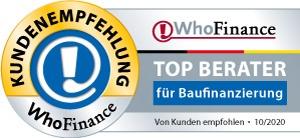 Kundenempfehlungen für Andreas Kissel bei WhoFinance